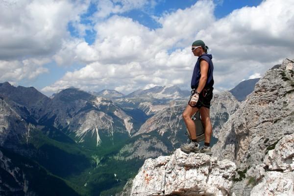 Gigi climbing